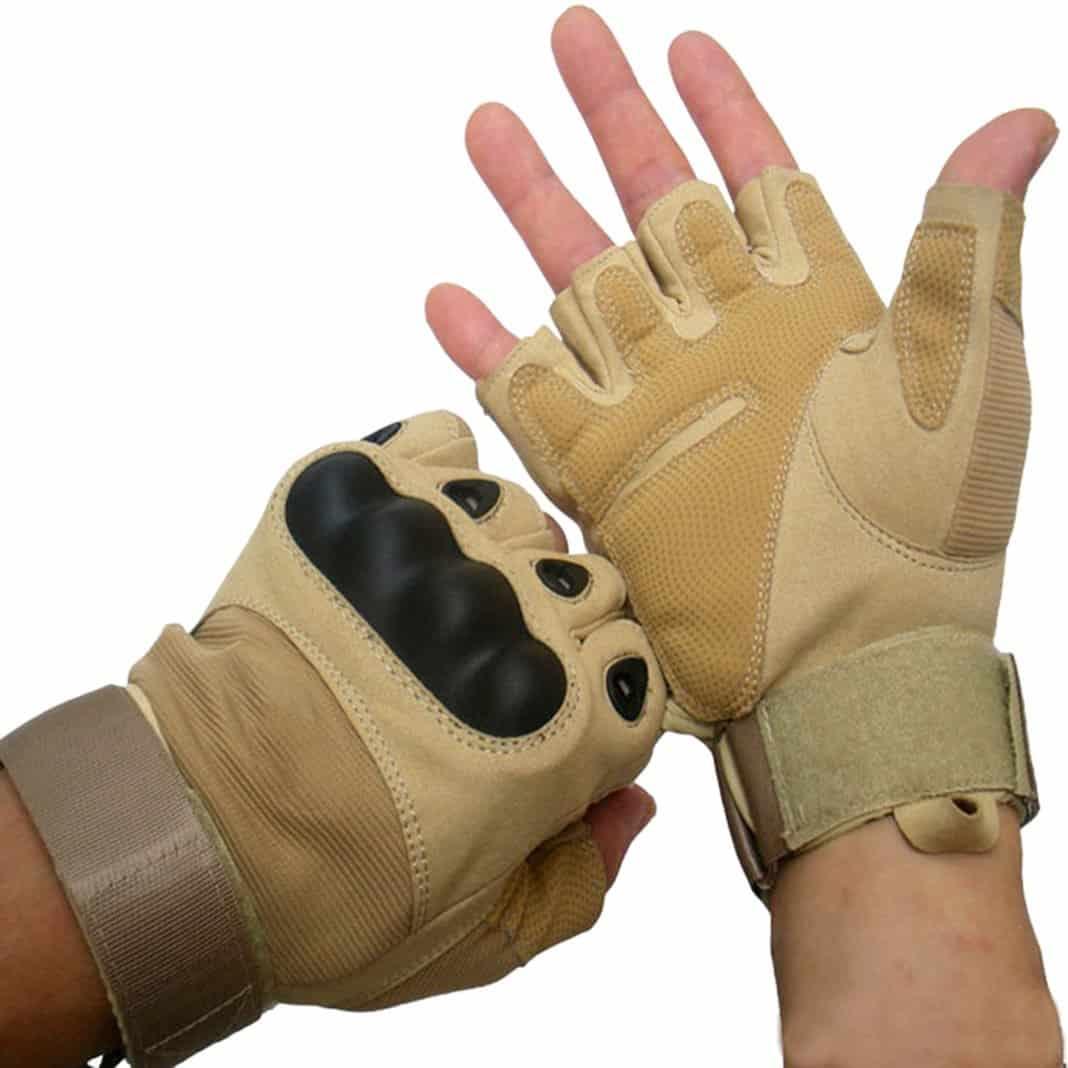 ALPIDEX Klettersteighandschuhe Handschuhe Kletterhandschuhe atmungsaktiv leicht