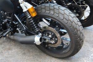 Motorräder und Motorradreifen